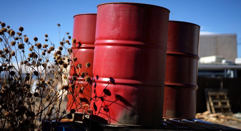 Oil barrels in Colorado FBN