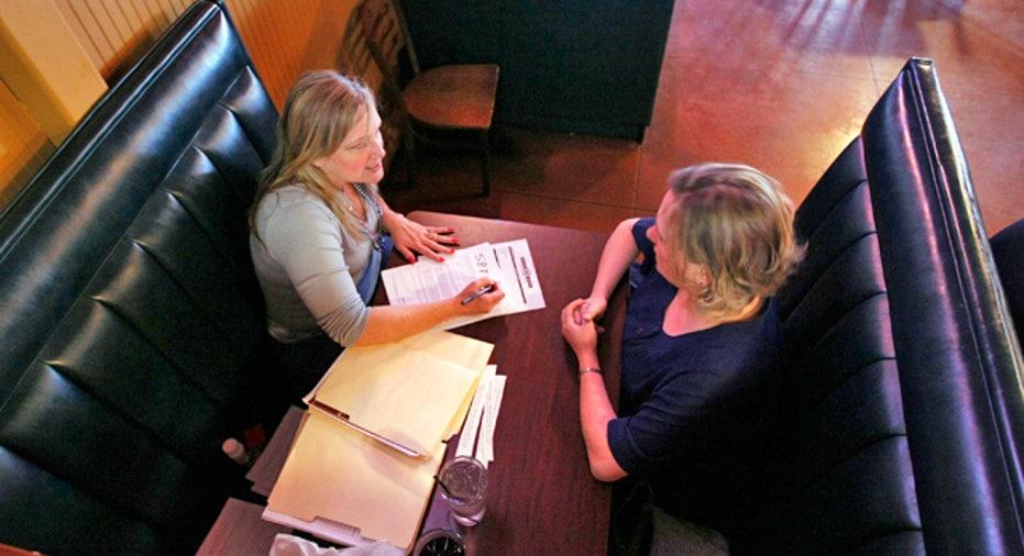 Women on Job Interview at Restaurant