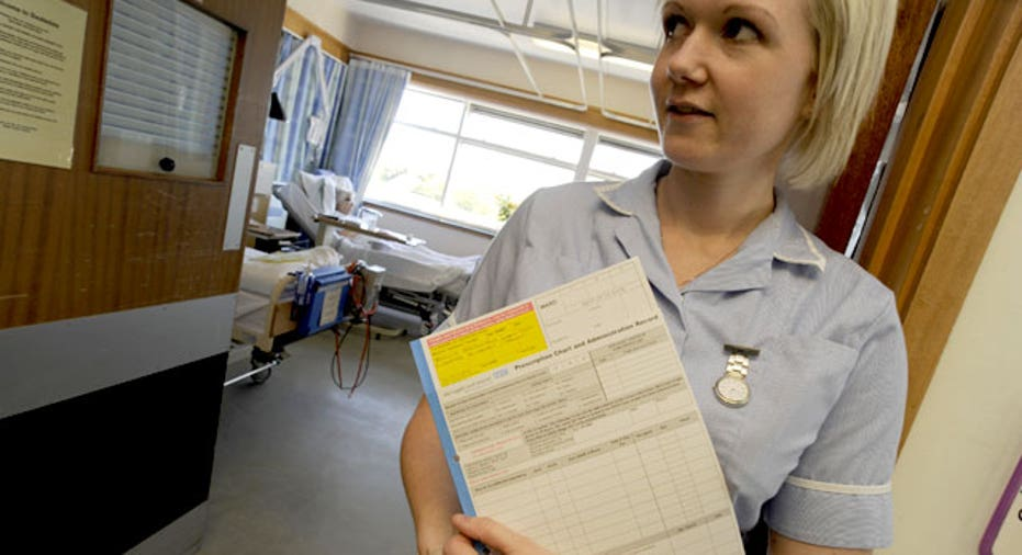 Nurse Holding a Clipboard