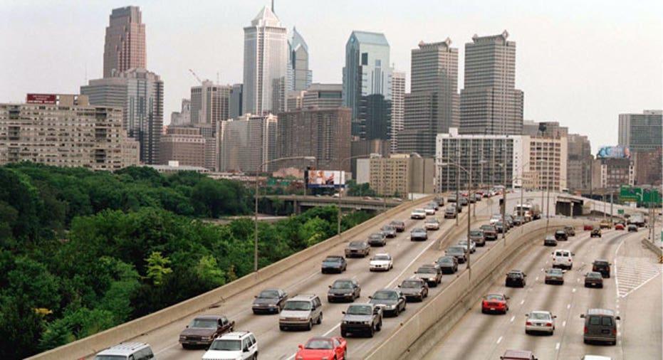 philadelphia, traffic, transportation, highway
