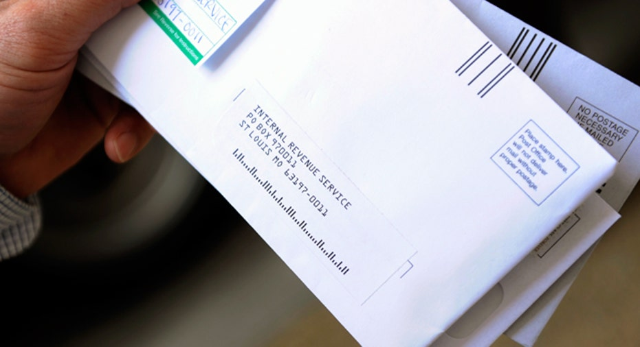 IRS Tax Return Envelope Reuters