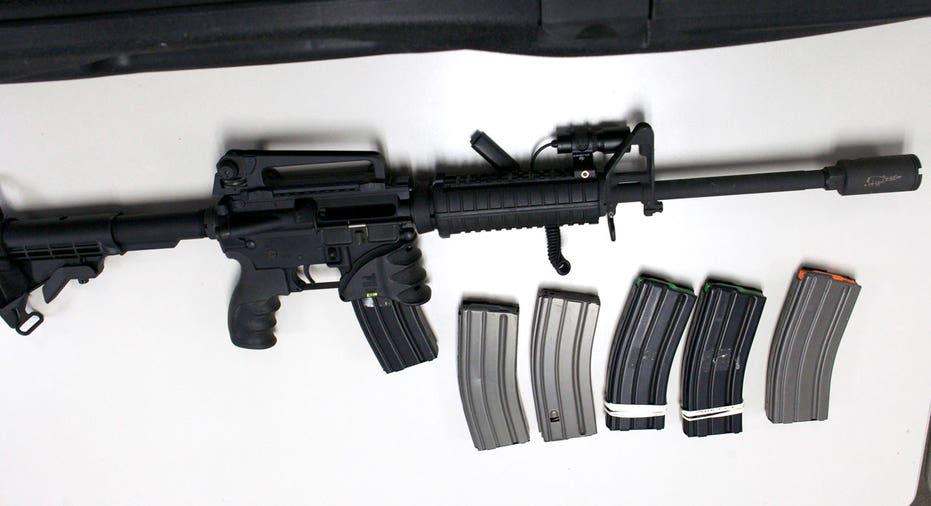 Bushmaster AR-15 rifle, Remington FBN