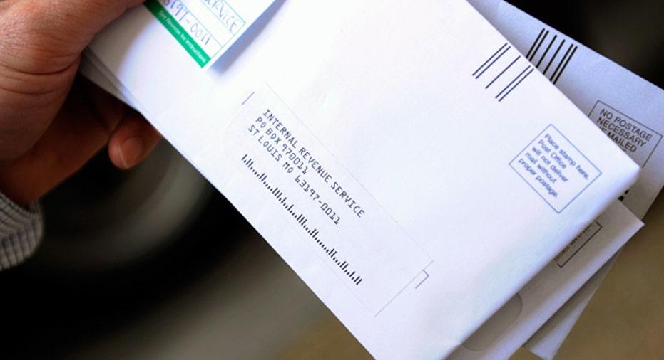 IRS Tax Return Envelope Reuters