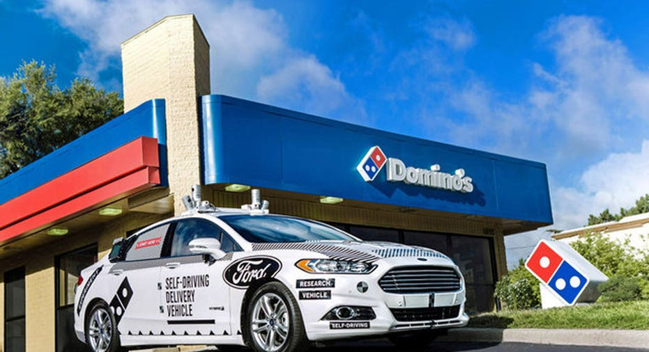 Ford Dominos  Reuters  Ford Motor Company