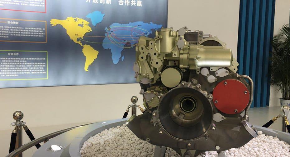 AIRSHOW-CHINA-ENGINES