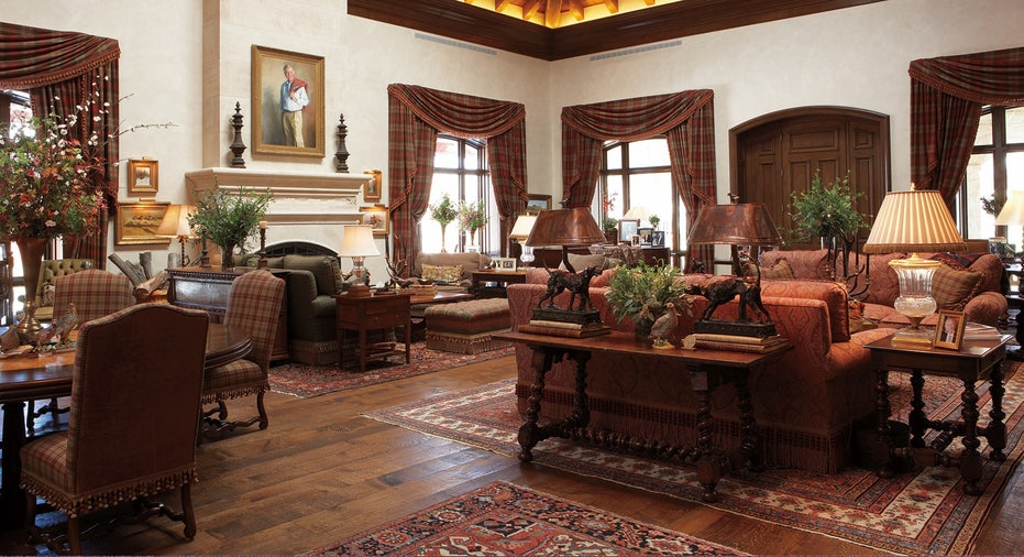 The interior at the Mesa Vista Ranch