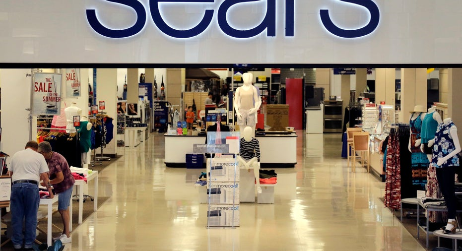 Sears store sign FBN