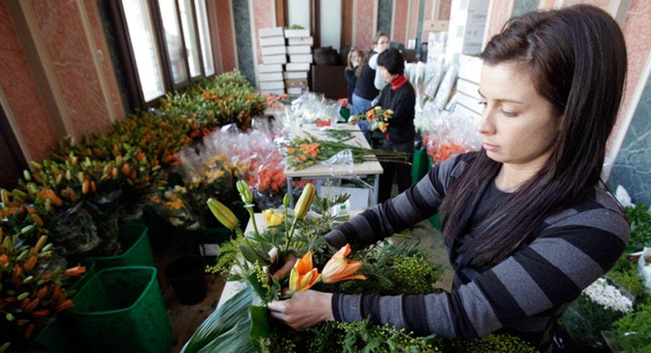 Florists Arranges Flowers, Personal Finance Slideshow