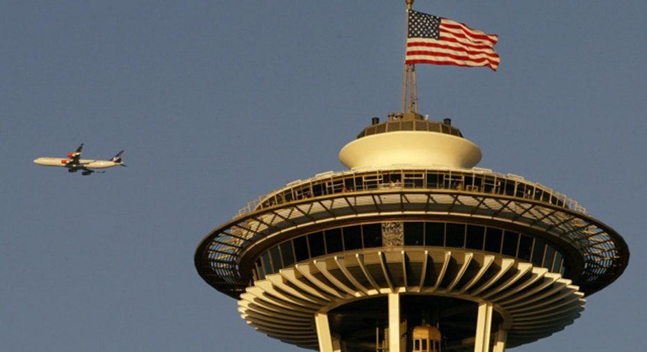Seattle Space Needle in Washington State