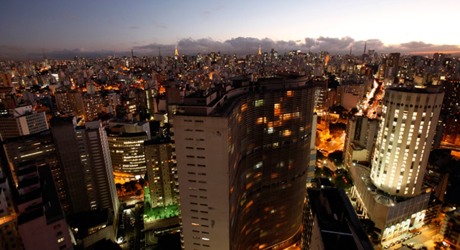 Sao Paulo General View, Reuters