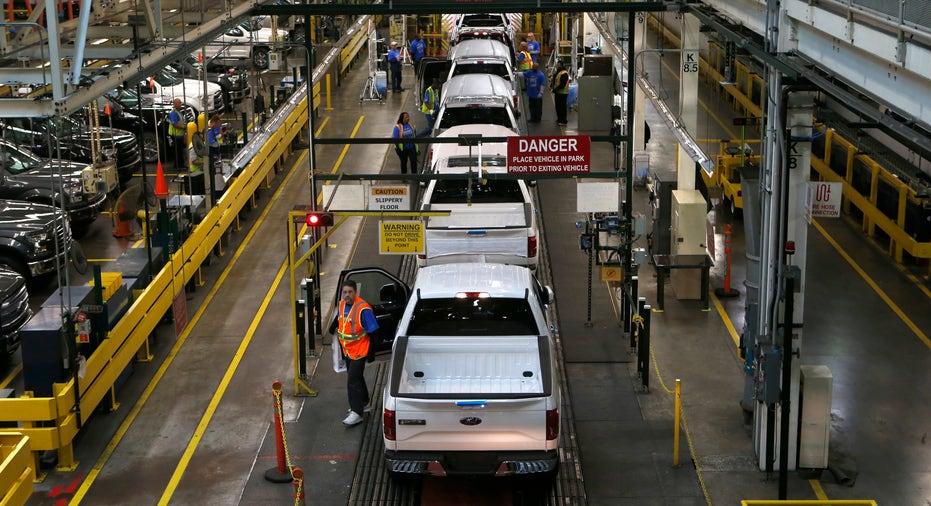 Ford F-150 trucks assembly line FBN