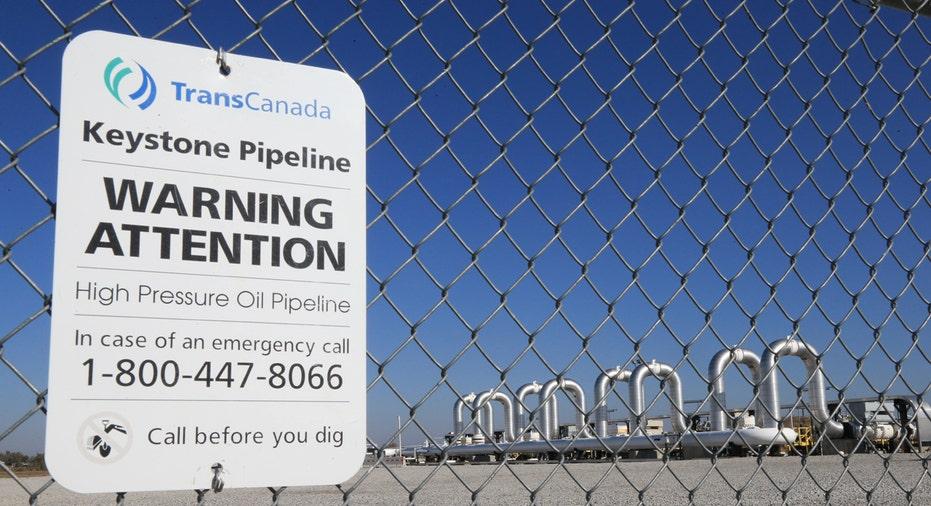 Keystone XL pipeline pumping station FBN