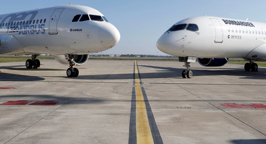 Airbus A320neo and Bombardier CSeries RTR FBN