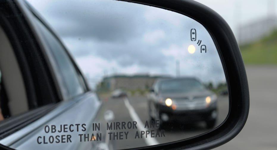 Car mirror lane keep assist FBN AP