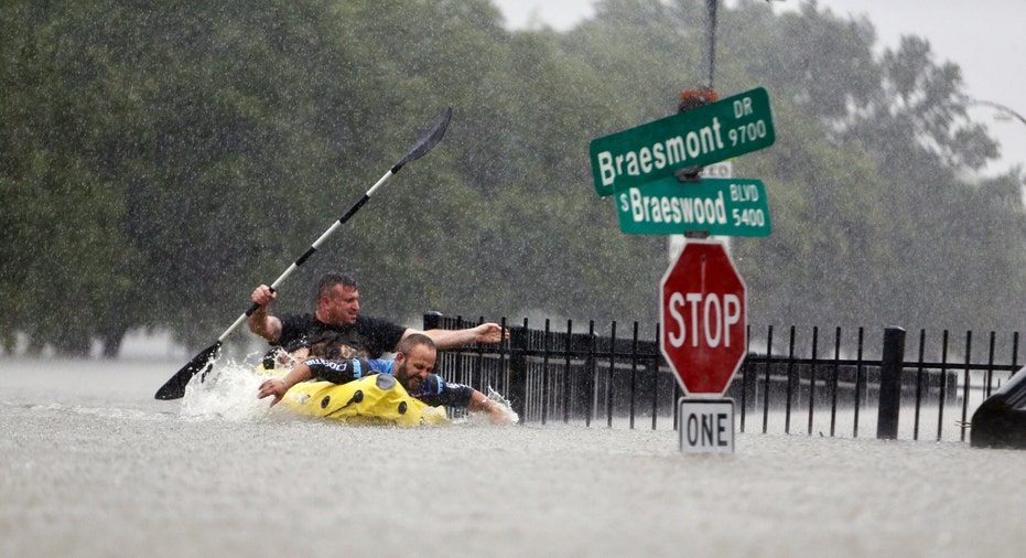 Hurricane Harvey Texas Flooding AP FBN