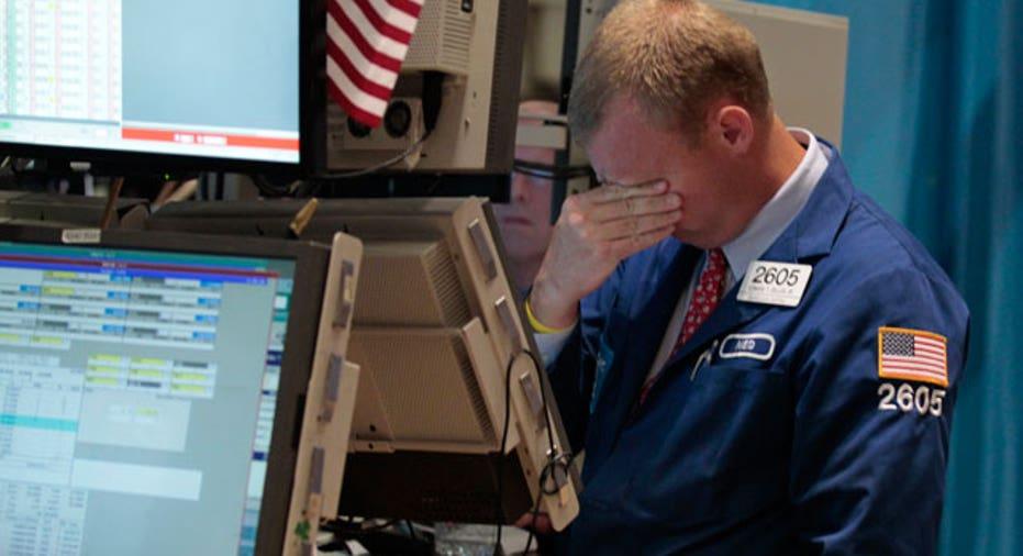NYSE Trader 083 Wipes Eyes