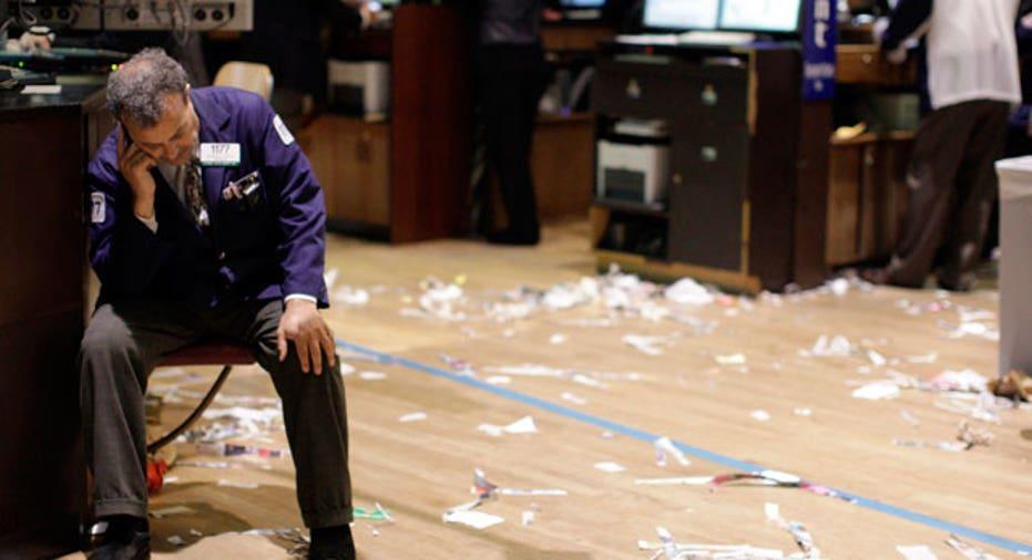 NYSE Trader Turmoil