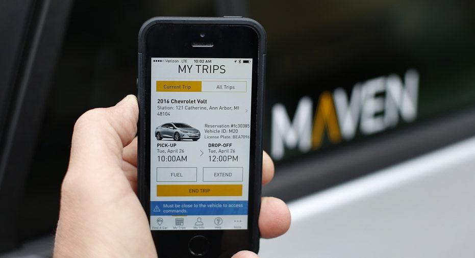 General Motors Maven app FBN