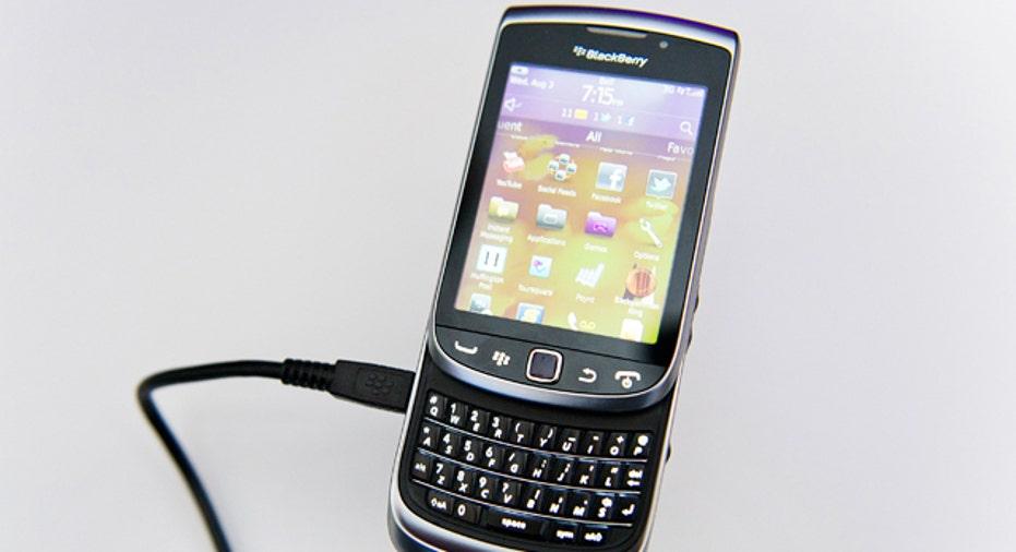 blackberry charging