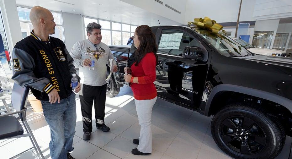Chevrolet showroom dealer Colorado FBN
