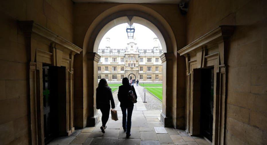 Clare College at Cambridge University Reuters