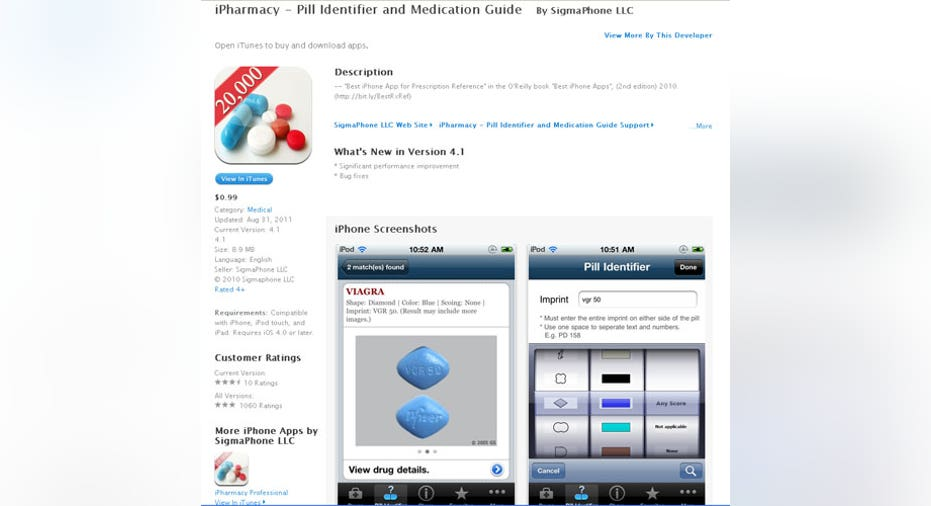 iPharmacy App, PF Slideshow
