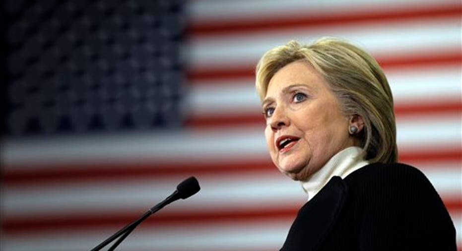 Presumptive Democratic Presidential Nominee Hillary Clinton