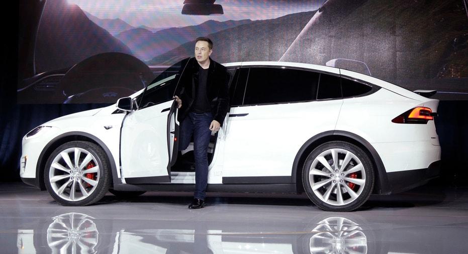 Tesla Model X Elon Musk FBN