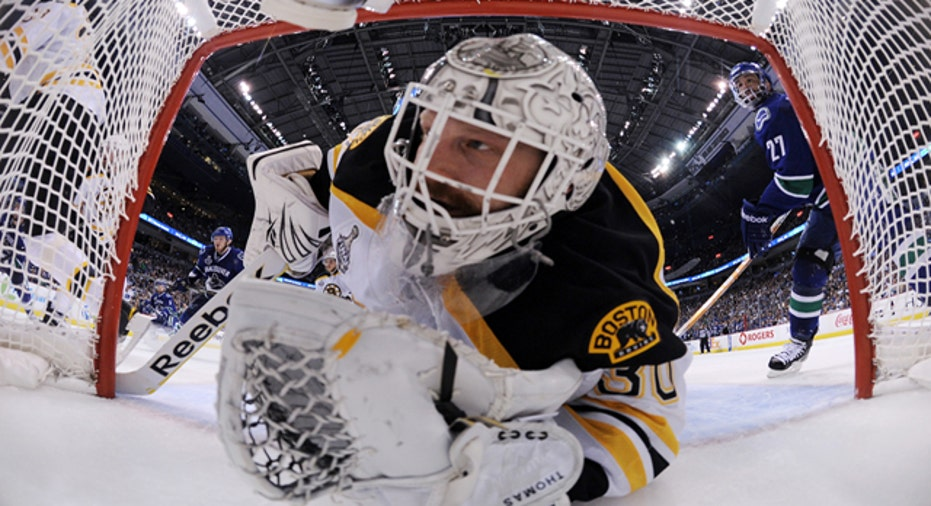 Boston Bruins Goalie, Reuters