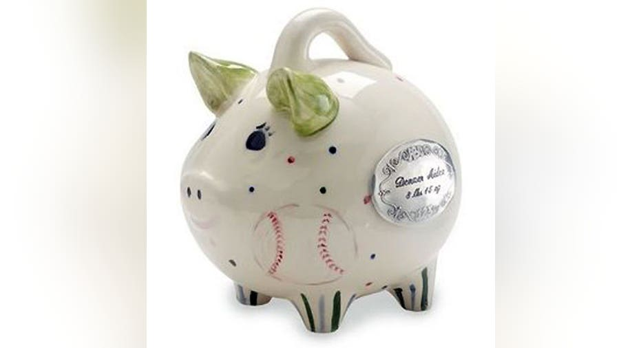 8 Piggy Bank, Made in America