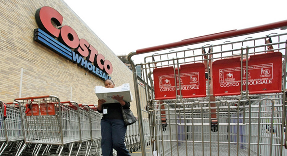 Costco Wholesale Shopping Carts Retail Store
