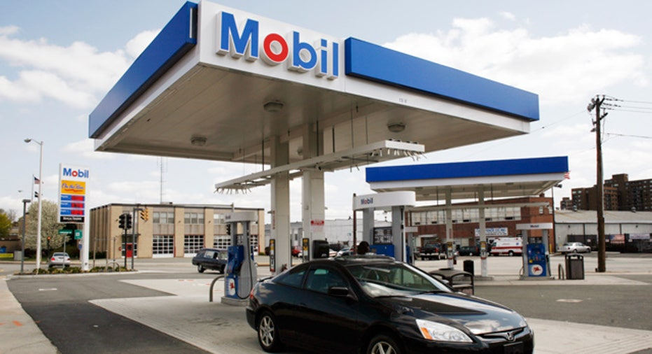 Exxon Mobil Oil Gas Station