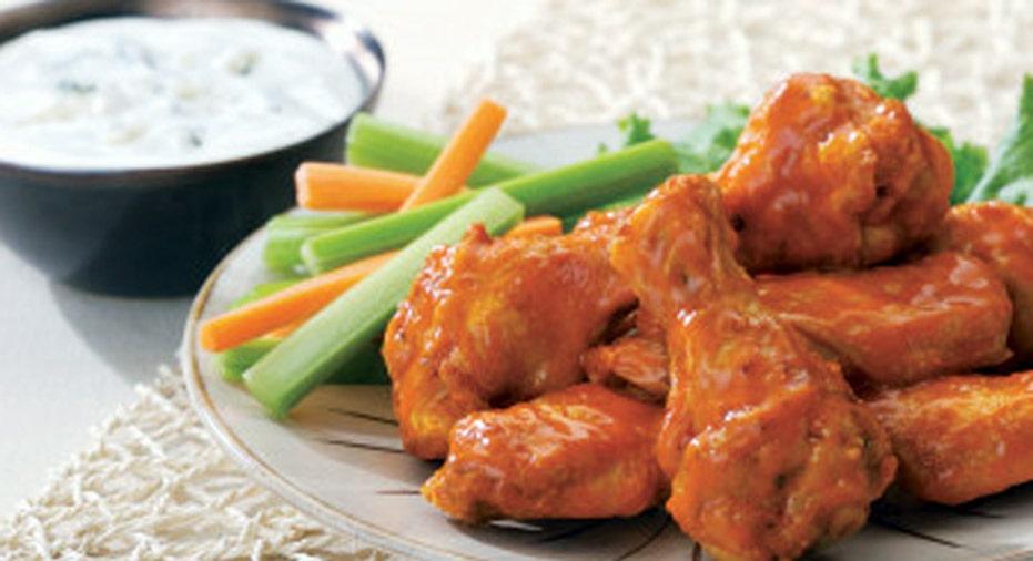 chicken wings, super bowl slideshow