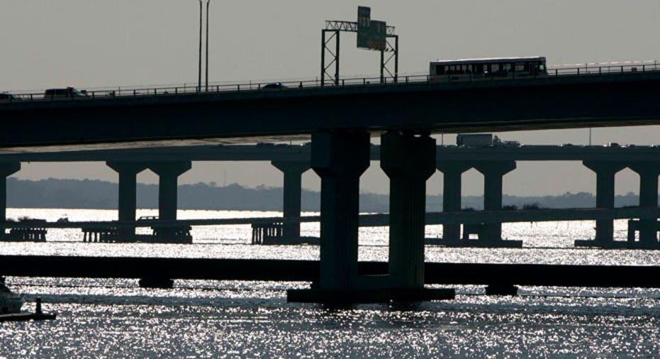 Jacksonville, Florida, St. Johns River, highway