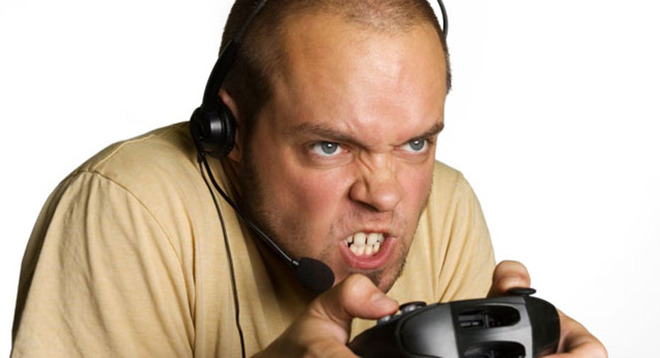 Intense Video Gamer