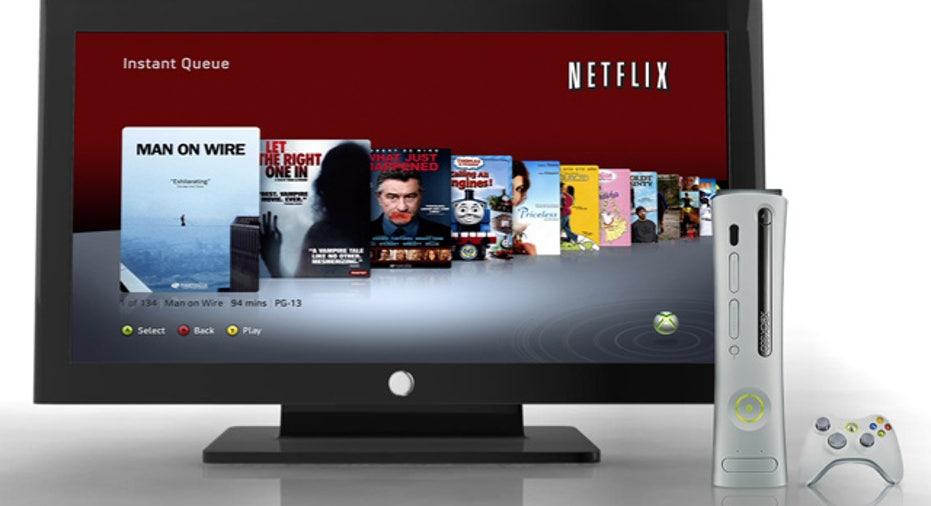 Netflix With XBox 360
