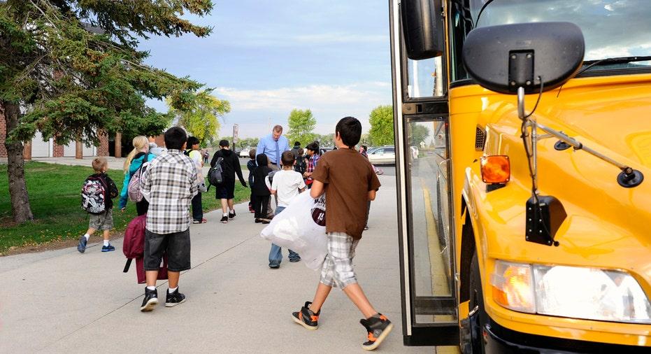 back to school, school bus, school FBN