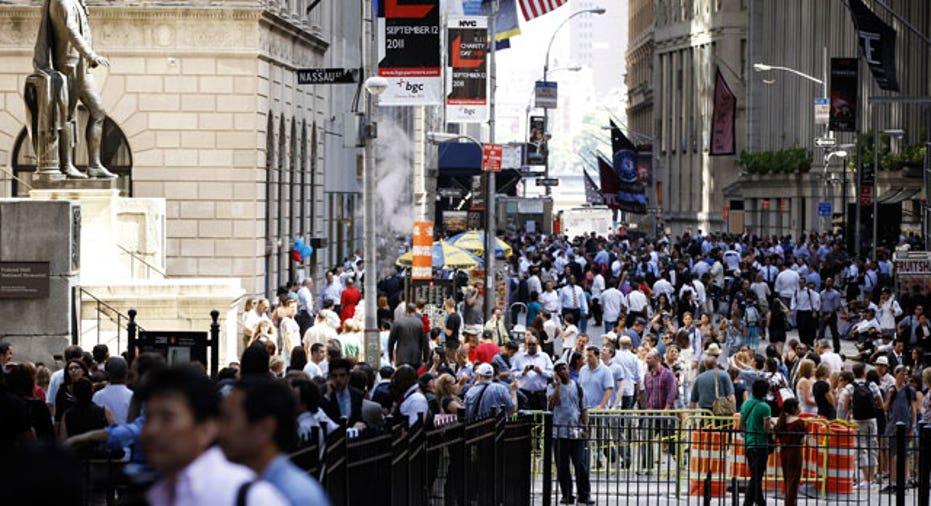 Wall Street Earthquake