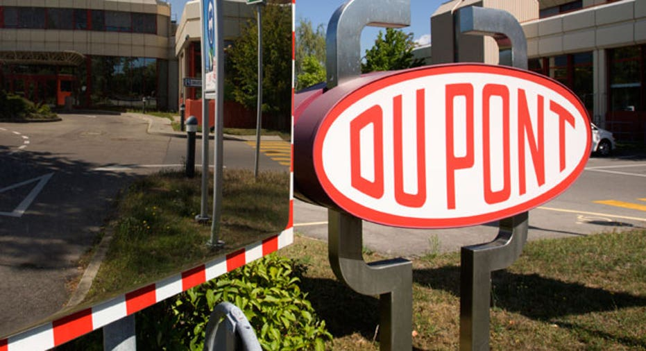 DuPont Logo at Research Center