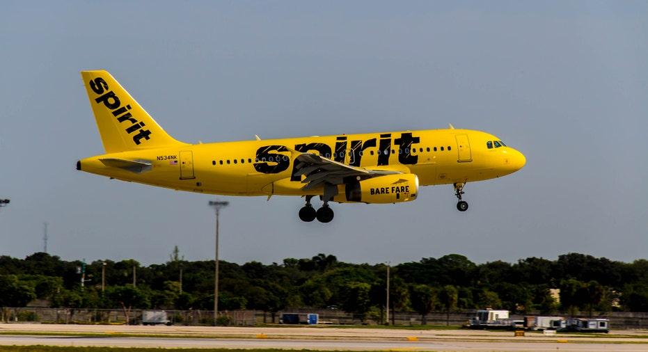 Spirit Airlines jet FBN