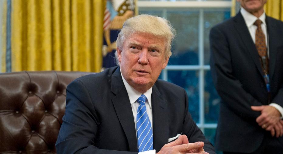 Trump at Desk FBN