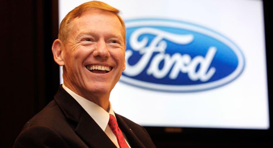 Alan Mulally CEO, Ford
