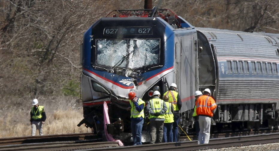 Amtrak Crash Chester PA