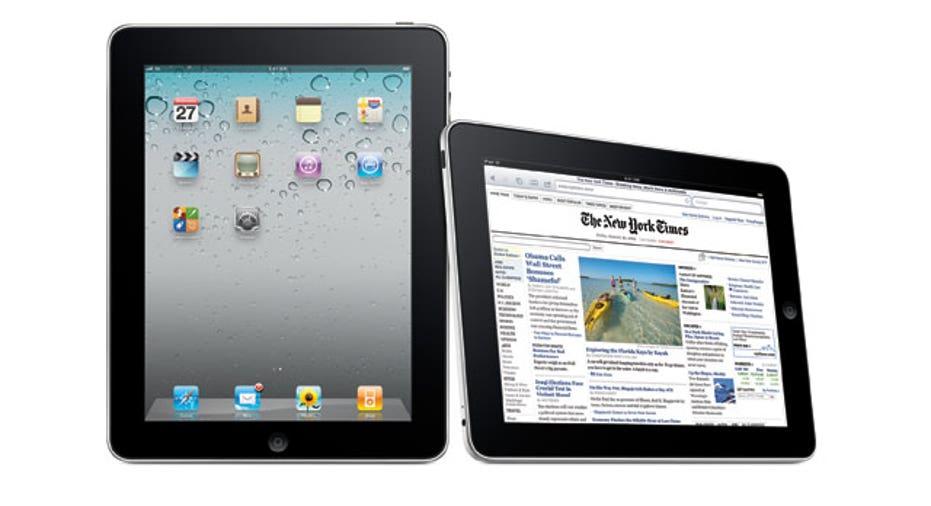 Apple iPad Vertical and Horizontal