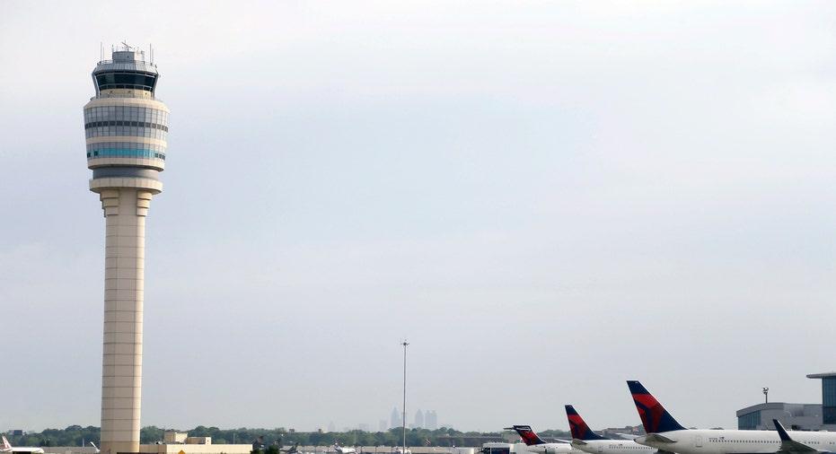 Atlanta Hartsfield International Airport Control Tower AP FBN