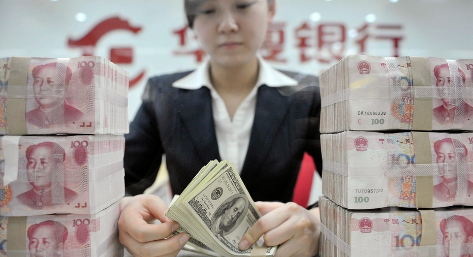 Bank Teller, Huaxia Bank