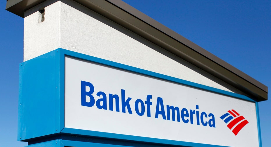 Bank of America Sign RTR FBN