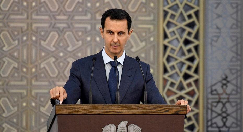Bashar Assad AP FBN