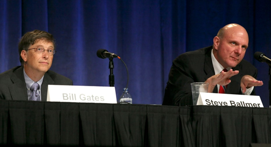 Bill Gates & Steve Ballmer Take Questions Reuters