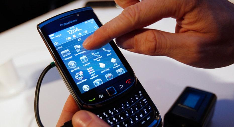 BlackBerry Torch 9800 Touchscreen
